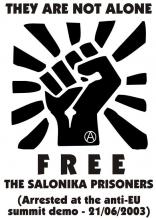 Free Salonika prisoners