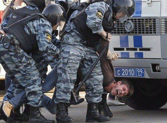полицейское насилие