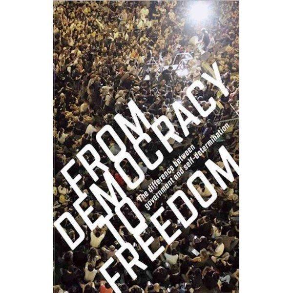 "Обложка книги ""От демократии к свободе"""