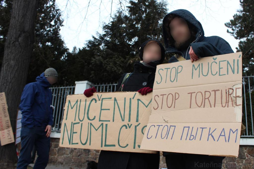 Акция солидарности в Брно