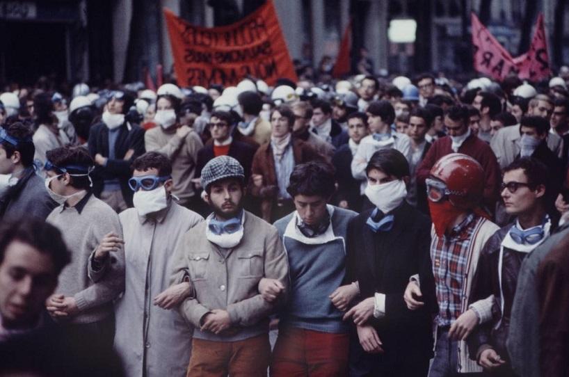 протесты 1968 франция