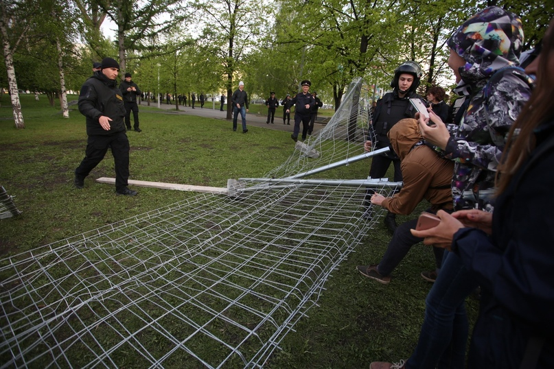 Народный протест в Екатеринбурге