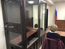 Пустой «аквариум» на оглашении приговора Дмитрию Бученкову